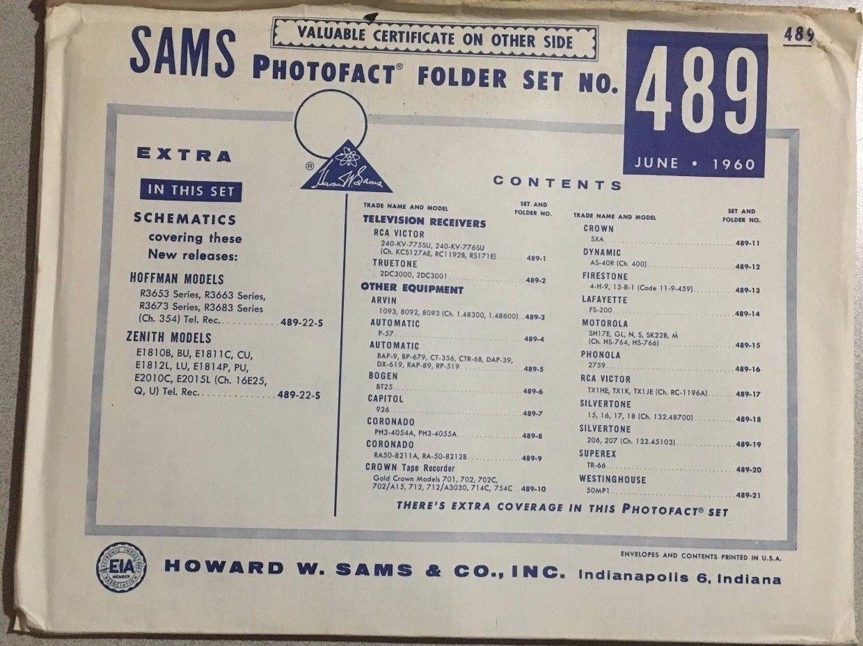 1960 SAMS Photofact vintage schematics and 41 similar items Rca Schematics on synthesizer schematics, antique radio schematics, zenith schematics, 4cx1500b amplifier schematics, whirlpool schematics, tube audio amplifier schematics, otl amplifier schematics, yamaha schematics, usb schematics, kitchenaid schematics, radio shack schematics, magnavox schematics, bose schematics,