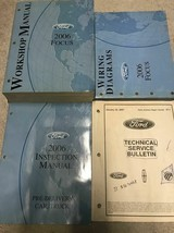2006 ford focus workshop repair service manual set oem factory with ewd ... - $129.27