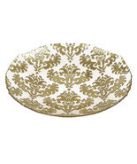 Damask Large Glass Centerpiece Bowl - £53.72 GBP