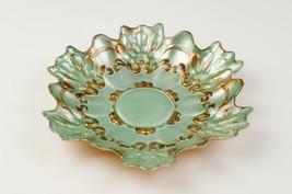Lace Set/4 Glass Canapé Plates - $49.00
