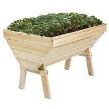 Outdoor Garden Bed Raised Vegetable Planter Flo... - $138.95