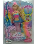 Barbie Dreamtopia Rainbow Lights Mermaid Doll Blonde DHC40 *See Descript... - $59.35