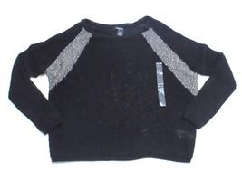 DKNY Jeans Long Sleeve Knit Sweater, Black, Sz. Small - $58.91