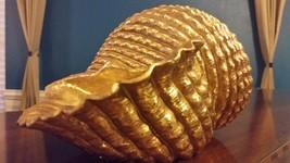 Decorative Metallic Shell - Gold - $37.00