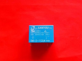 SMI-S-112LM R48A, 12VDC Relay, SANYOU Brand New!! - $5.94