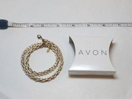 Ladies Womens Avon Woven Wrap Bracelet White F386651 NIP;; - $24.74