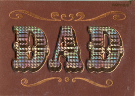 "Greeting Card ""DAD"" Themed Father's Day Card - $5.95"