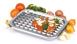 "NORPRO 274 Broiler Pan and Roast Set 16.5"" X 12"" Stainless Steel - $34.99"