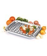 "NORPRO 274 Broiler Pan and Roast Set 16.5"" X 12"" Stainless Steel - £26.28 GBP"