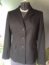 Le Suit Women Long Sleeve Black Evening Blazer Suit Jacket SZ 8 - $39.59