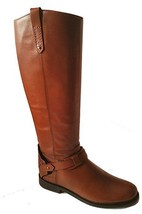 Tory Burch Derby Riding Leather Boot Shoes Brand New Authentic - $450.00