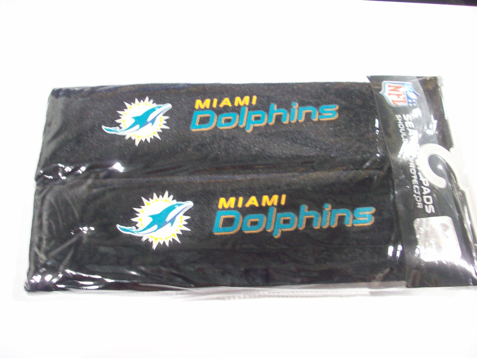Pack of 2 NFL Seat Belt Pads