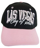 Las Vegas City of SIn Men's Curved Brim Adjustable Baseball Cap Hat Blac... - $8.95