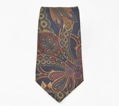 "Burberry Men's 100% Silk Neck Tie 57"" Long 3.75"" Wide Made in England - $49.95"