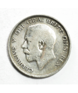 1915 Great Britain Half 1/2 Crown KM# 818.1 Silver Coin UK - €17,93 EUR