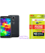 "Straight Talk Samsung Galaxy S5 ""Black"" run's o... - $219.99"