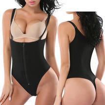 Women's Full Body Shaper Thong Convertible Zipper Corset Cincher Body Suit - $15.55+