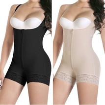 Women's Seamless Firm Control Shapewear Open Bust Bodysuit Faja Body Shaper - $15.09+