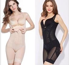 Women Full Body Shaper clip & zip Waist Cincher Thigh Reducer Bodysuit Shapewear - $14.95+