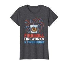 Brother Shirts - Funny 4th Of July Shirt Fireball Fourth Drinking Party ... - $19.95
