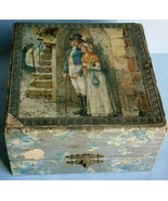 19th Century Decorated Shaving Mug and Brush Box - $23.70