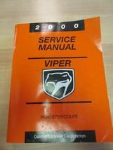 2000 VIPER Coupe & Roadster Powertrain Diagnostics Factory Service Manual Dodge - $17.82