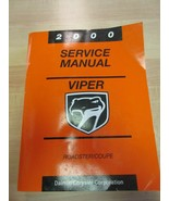 2000 VIPER Coupe & Roadster Powertrain Diagnostics Factory Service Manua... - $17.82