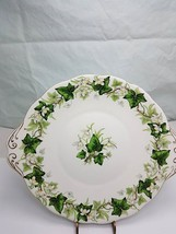 Royal Albert Ivy Lea cake plate bone china England - $29.99