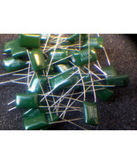 0.033uF  33nF 100V Green Polyester Capacitors  ... - $1.13