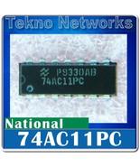 National - 74AC11 3 input AND gates DIP-14 - 4p... - $0.90
