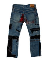 CRAZY COOL, SOLD OUT $1,165 DISTRESSED PATCHWORK JUNYA WATANABE JEANS (NWT) - $607.50