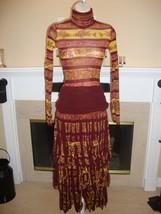 Stunning New Skirt & Top Set By J EAN Paul Gaultier (Nwt) - $535.50