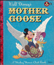 Walt Disney's Mother Goose Little Golden Book (1st print) Al Dempster - $14.98