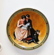 Knowles A Couples Commitment by Norman Rockwell American Dream CP436 by ... - $19.80