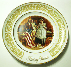 Avon Betsy Ross Collectible 1973 Plate  - $3.83