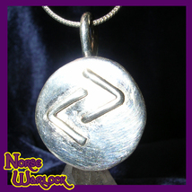 Jera Rune Pendant for Great Reward, Success, Joy & Celebration! Viking h... - $299.99