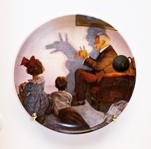 Shadow Artist by Norman Rockwell Collector Plate - $27.72