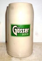 Gosser Bier Salzburg Masskrug Austrian Beer Stein - $19.95