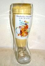 Munich Oktoberfest 2013 German Beer Glass Boot - $12.50