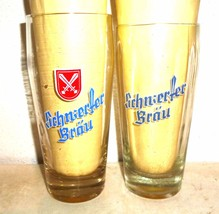 2 Schwerter Brau Meissen East German Beer Glasses - $14.95