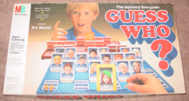 GUESS WHO MYSTERY FACE GAME 1987  MILTON BRADLEY COMPLETE EXCELLENT - $20.00