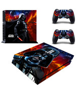 PS4 Skin & Controller Star Wars Darth Vader VIn... - $12.00