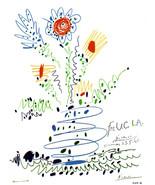 PICASSO LITHOGRAPH 1964 w/COA. Pablo Picasso U.C.L.A. unique Picasso $ R... - $222.35