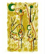 MIRO LITHOGRAPH w/COA unique £ gift € invest $ Joan Miró 1972 litógrafo ... - $130.61