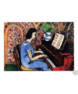 MATISSE SIGNED LITHOGRAPH 1939 with COA. gift a pianist unique MUSICAL R... - $349.00