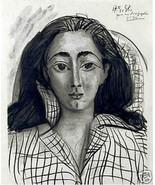 "PABLO PICASSO SIGNED ORIGINAL LITHOGRAPH ""Jacqueline"" EXCLUSIVE Picasso ... - $495.00"