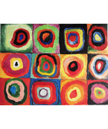 KANDINSKY - GENUINE OIL PAINTING (after) INVEST $ in Wassilly Kandinsky ... - $169.72