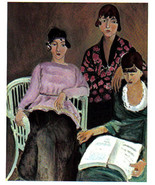 HENRI MATISSE 1939 LITHOGRAPH, Three Sisters w/COA. unique $ beautiful R... - $183.53
