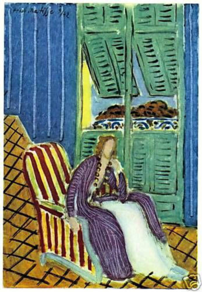 HENRI MATISSE 1947 SIGNED LITHOGRAPH w/COA. £ Invest in SIMPLY GORGEOUS RARE ART