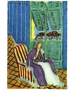HENRI MATISSE 1947 SIGNED LITHOGRAPH w/COA. £ Invest in SIMPLY GORGEOUS ... - $249.00